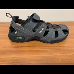 TEVA Forebay Gray Sport Hiking Sandals Men's 9